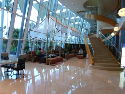 Lobby of Jurmeirah Beach Hotel