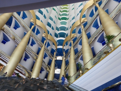 Walls of the Burj Al Arab