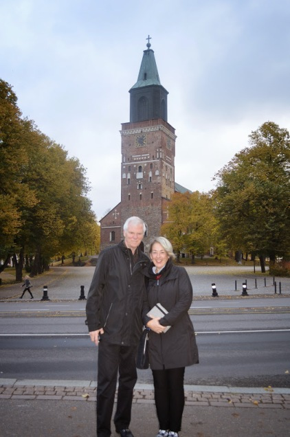 Deb and John in Turku
